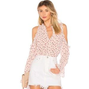 Revolve L'Academie Los Angeles The Bell Button Up